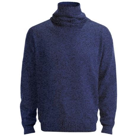 San York Alpaca Turtleneck Sweater (For Men)