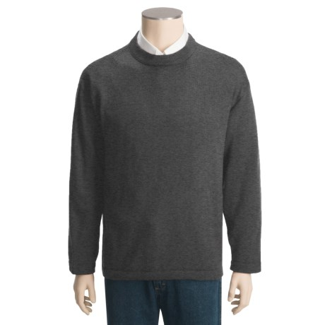 San York Alpaca Sweater - Crew Neck (For Men)