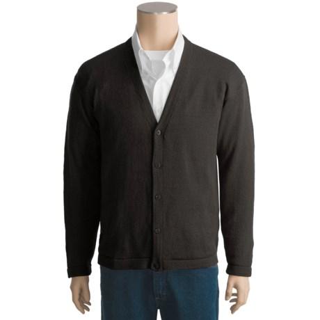 San York Alpaca Cardigan Sweater - V-Neck (For Men)