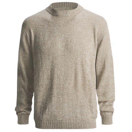 San York Alpaca Pullover Sweater - Crew Neck (For Men)