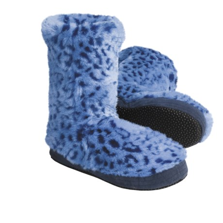 Acorn Textured Multi-Colored Bootie Slippers (For Girls)