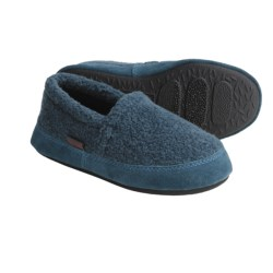 Acorn Tex Moccasins - Berber Fleece (For Boys)