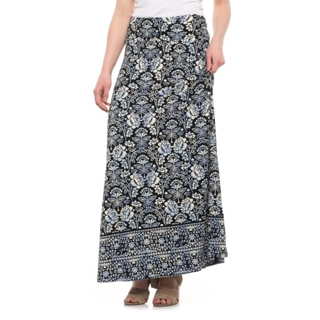 Artisan NY Printed Maxi Skirt (For Women)