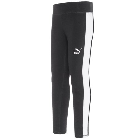 Puma Side Stripe Leggings (For Little Girls)