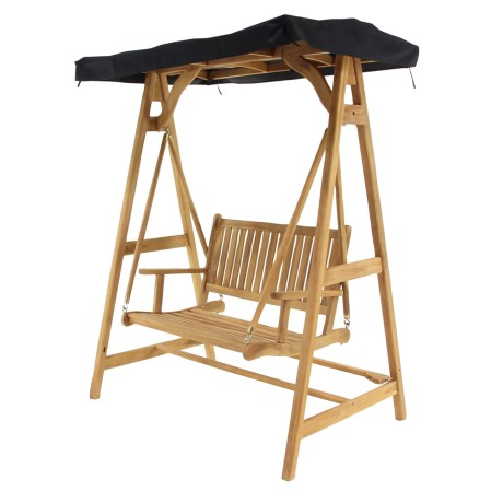 UMA Teak Alexa Swinging Chair