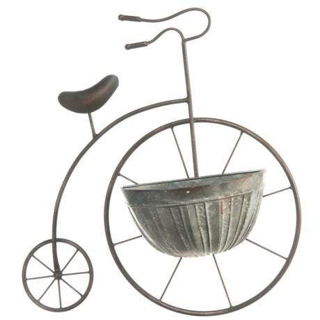 UMA Metal Bicycle Wall Planter