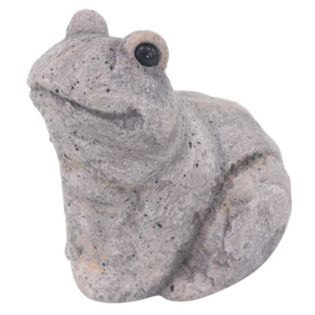 "UMA Polystone Frog Statue - 11"""