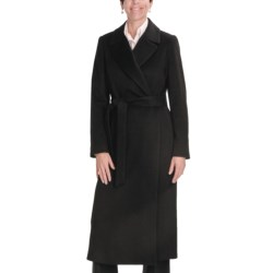 Jonathan Michael Coat - Merino Wool-Cashmere (For Plus Size Women)