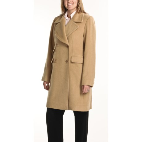 Jonathan Michael Walker Coat - Camel Hair (For Women)