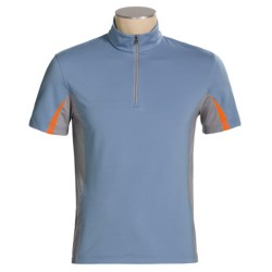 Victorinox Swiss Army Minerale Tri-Color Jersey - Zip Neck, Short Sleeve (For Men)