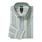 Victorinox Swiss Army Stripe Shirt - Linen-Cotton, Long Sleeve (For Men)