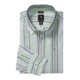 Victorinox Swiss Army Stripe Shirt - Linen-Cotton, Long Sleeve (For Men)
