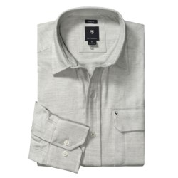Victorinox Classic Fit Twill Shirt - Flannel, Long Sleeve (For Men)