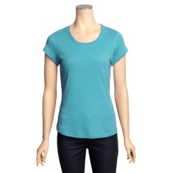 Specially made Cotton Knit Shirt - Short Sleeve (For Women)