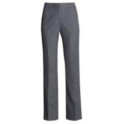 Single Back Pocket Pants - Flat Front (For Women)