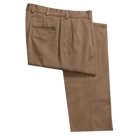 Bills Khakis M1 Vintage Cotton Twill Pants - Pleats (For Men)