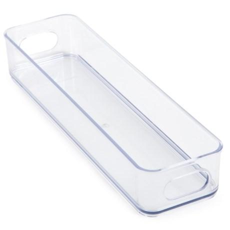"Core Bamboo Refrigerator Storage Fridge Bin - 4x14.5"", BPA-Free"