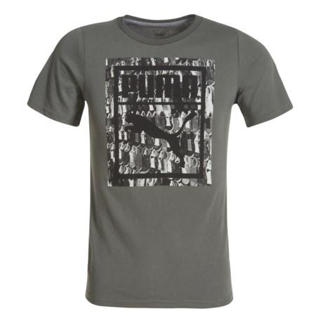 Puma Skateboard Wall Graphic T-shirt - Short Sleeve (For Big Boys)