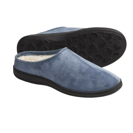Acorn Big Easy Slippers - Wool Lined (For Women)