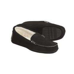 Acorn Mia Canoe Moccasin Slippers -Wool Lining (For Women)