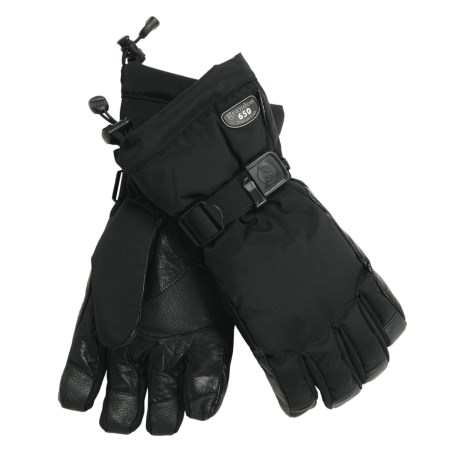 Grandoe Pilot Down Gloves - Waterproof, 650 Fill Power (For Men)