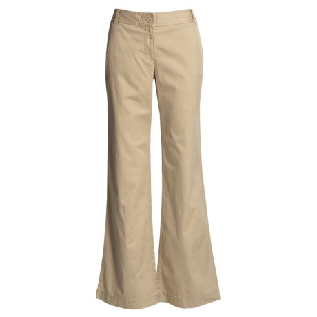Cotton Chino Pants (For Women)