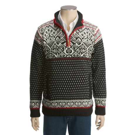 Icewear Bjorn Worsted Wool Sweater - Wind- and Water-Resistant Lining (For Men)