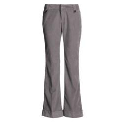 Stretch Cotton Corduroy Pants - Martin Fit (For Women)