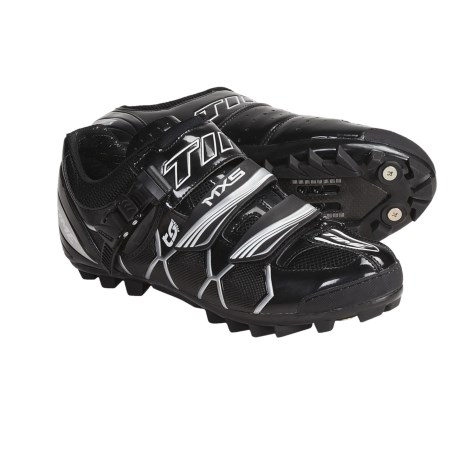 Time Sport MXS MTB Cycling Shoes - SPD, Carbon (For Men and Women)