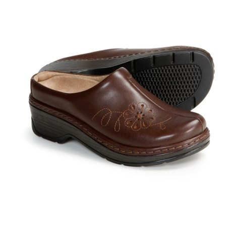 Klogs Magnolia Clogs - Leather, Open Back (For Women)