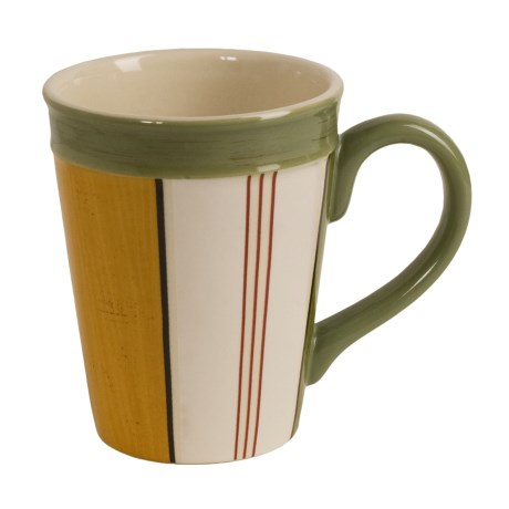Signature Housewares Sorrento Stripes Mugs - Set of 6