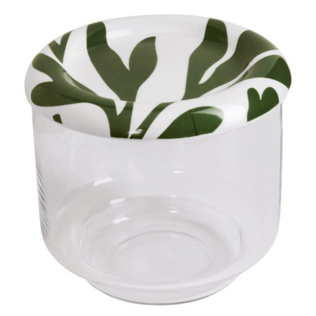 Sagaform Small Salad Bowl with Lid-High Edge
