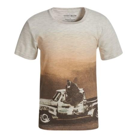Lucky Brand Bear Truck T-Shirt - Short Sleeve (For Little Boys)