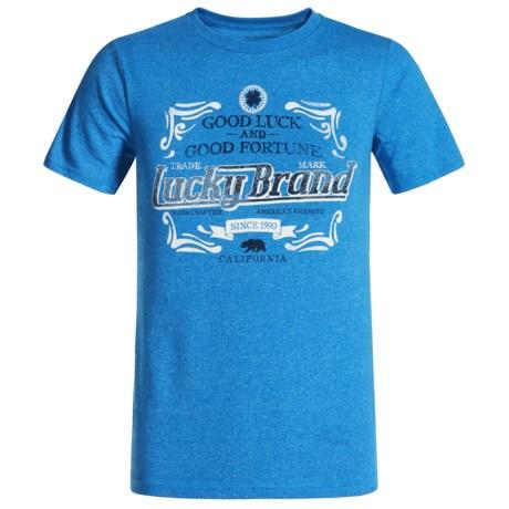 Lucky Brand Fortunate T-Shirt - Short Sleeve (For Big Boys)