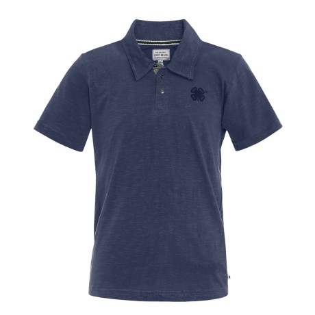 Lucky Brand Core Slub Polo Shirt - Short Sleeve (For Big Boys)