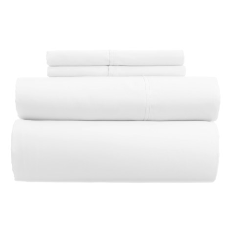 Westport Home Combed Cotton Sheet Set - Queen, 400 TC