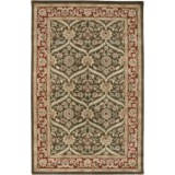 Amer Cardinal Collection Rope Medallions Accent Rug - 2x3', New Zealand Wool