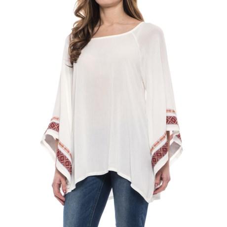 Wrangler Rock 47 Pagoda Shirt - Long Sleeve (For Women)