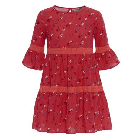 Lucky Brand Tatiana Dress - Long Sleeve (For Big Girls)