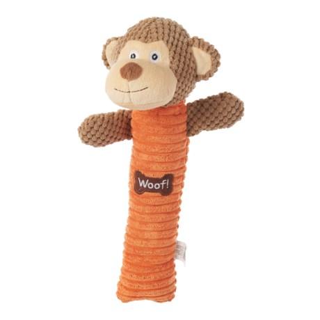 "Best Pet Monkey Log Dog Toy - 15"""