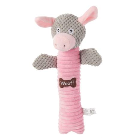 "Best Pet Pig Log Dog Toy - 15"""