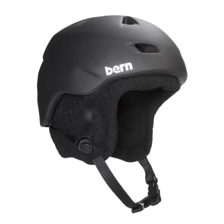 Bern Brentwood Zip Mold® Multi-Sport Helmet - Integrated Audio System, Removable Liner