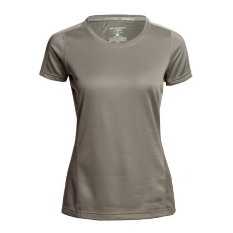 Terramar Terra-T Base Layer Top - UPF 25+, Short Sleeve (For Petite Women)