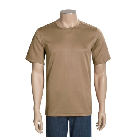 Terramar Terra-T Base Layer Top - UPF 25+, Lightweight, Short Sleeve (For Men)