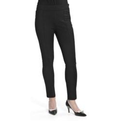 Louben Ponte Knit Stretch Pants - Slim Leg (For Women)