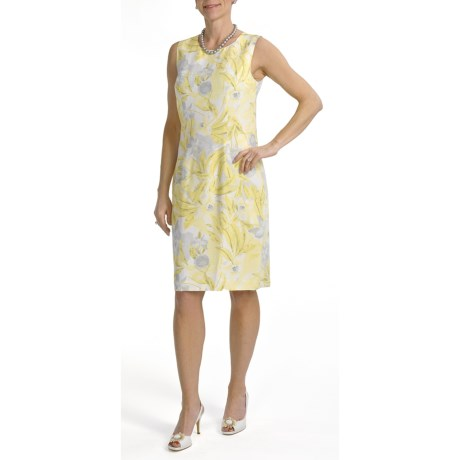 Louben Sheath Dress - Sleeveless (For Women)