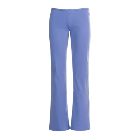 Hot Chillys Micro-Elite Brushed Pants with Zipper - Bootcut (For Women)