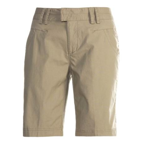 White Sierra Morro Bay Shorts (For Women)
