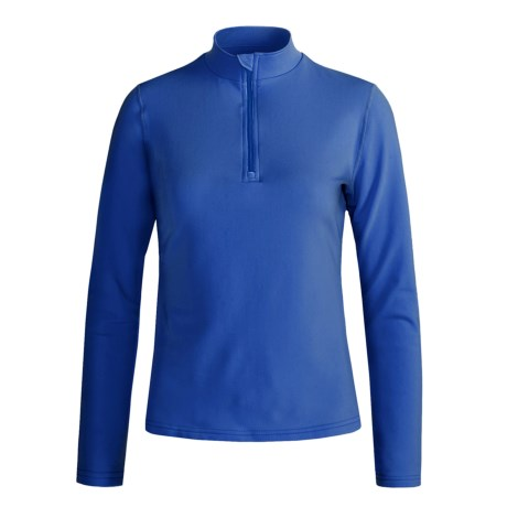 Hot Chillys Micro-Elite Base Layer Top - Zip Neck, Long Sleeve (For Women)