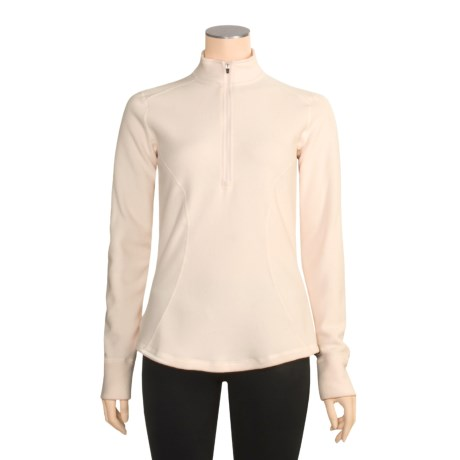 Hot Chillys La Montana Base Layer Top - Fleece, Zip Neck, Long Sleeve (For Women)